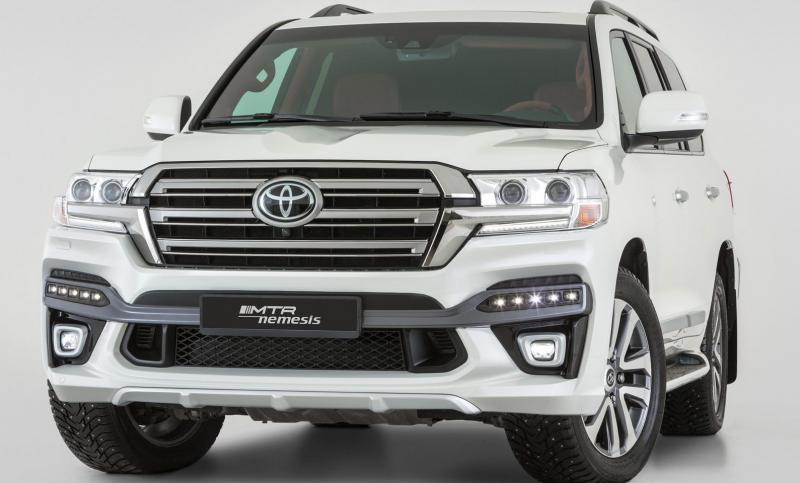 Обвес Toyota Land Cruiser 200 2015 – н.в.